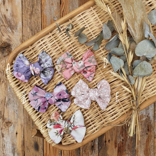 Image of Hand Tied Bows - Floral Range 2