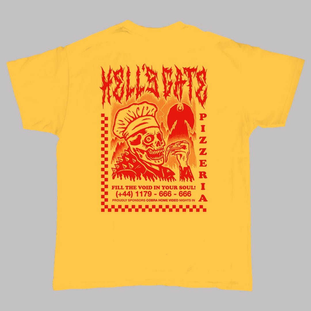 Image of HELL'S GATE PIZZERIA - Yellow