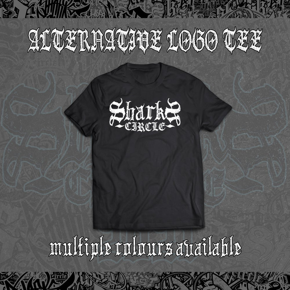 Sharks Circle - Alternative Logo Tee (Black)