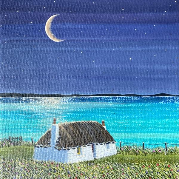 Image of Uist moonlit giclee print