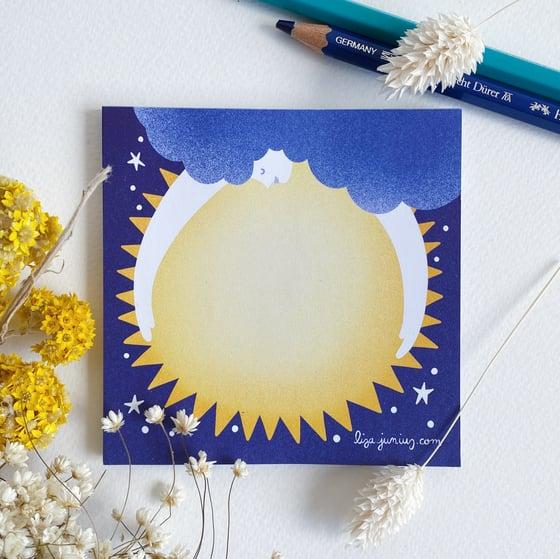 Image of Sun Goddess Memo Pad
