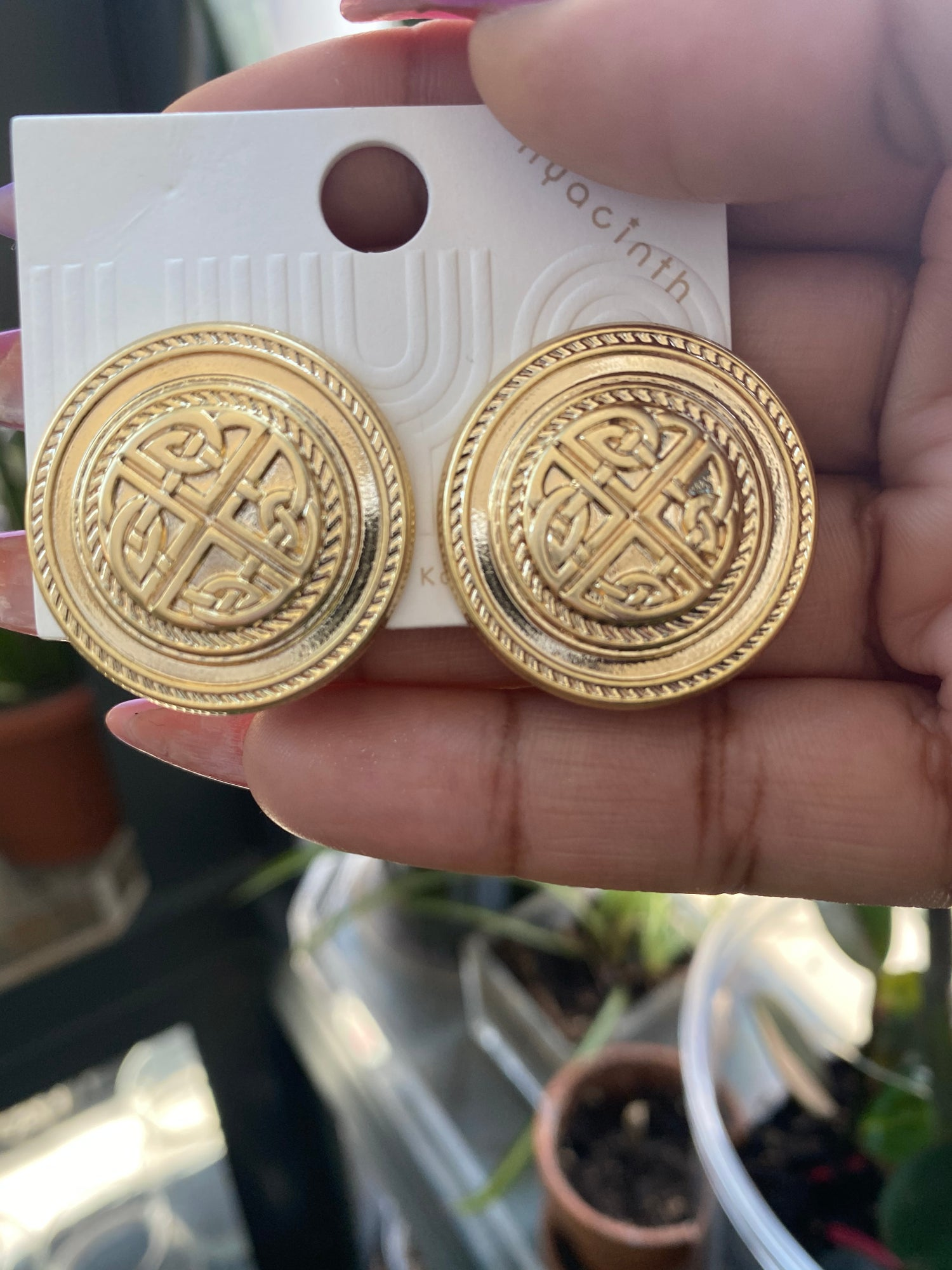 "Image of ""Bougie Studs"" earrings"