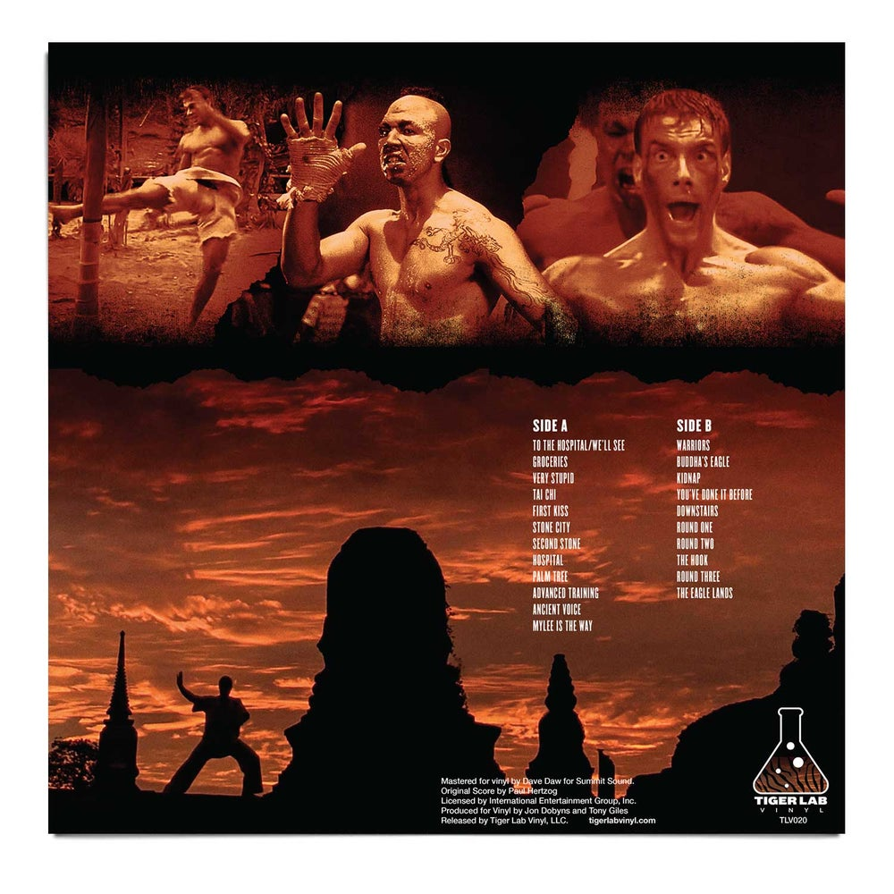 """KICKBOXER"" Limited Edition LP"