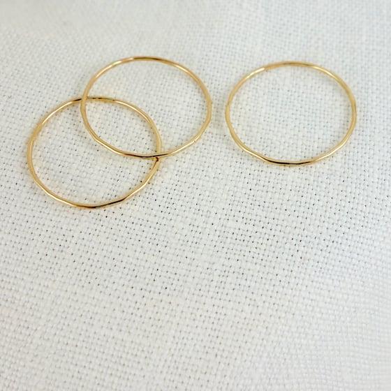 Image of Skinny Stacking Rings