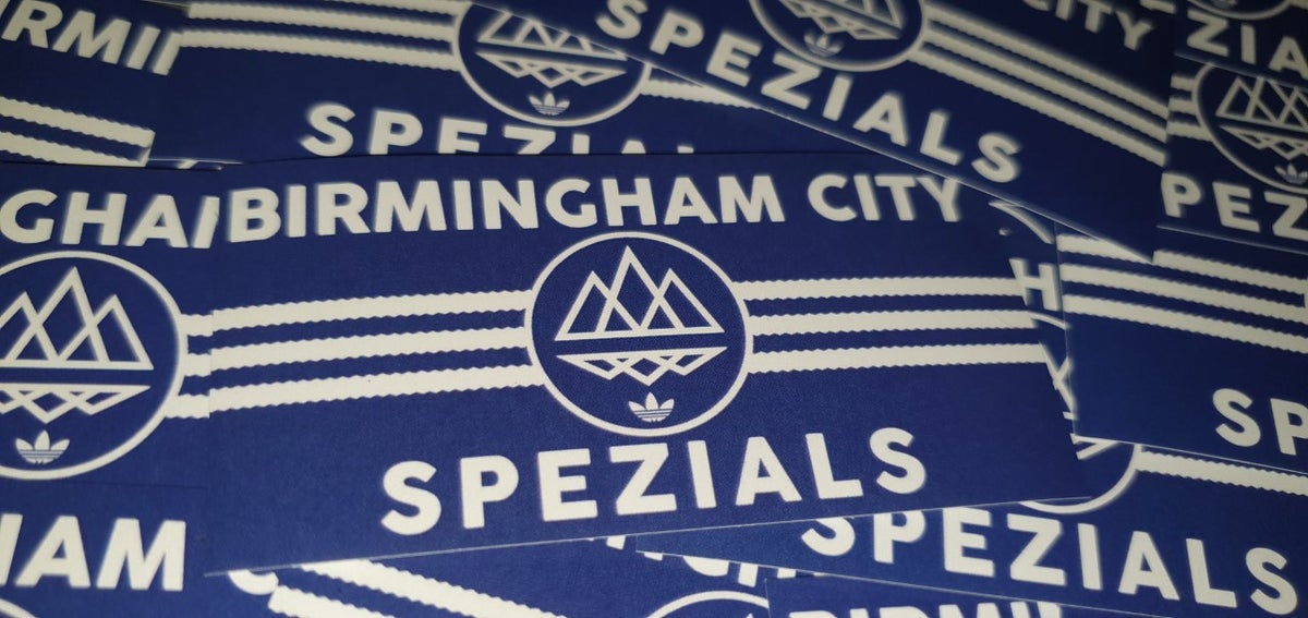 Pack of 25 8x4cm Birmingham City Football/Ultras/Casuals/Hooligans Stickers.