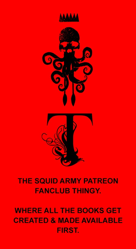 Image of THE SQUID ARMY CLUB