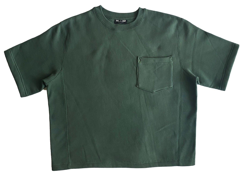 Image of Vital Pocket Sweatshirt (Forest Green)