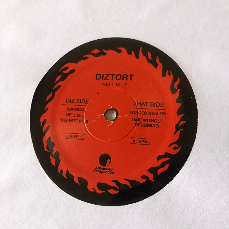 "Image of Diztort ""Hell Is..."" 2nd Press"