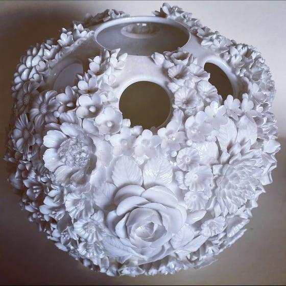 Image of Antique flower vase