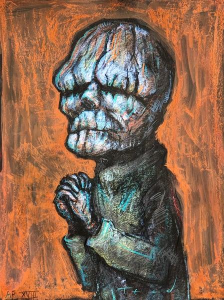 "Image of Teod ""The Butler"" Art Embellishment AP 18"