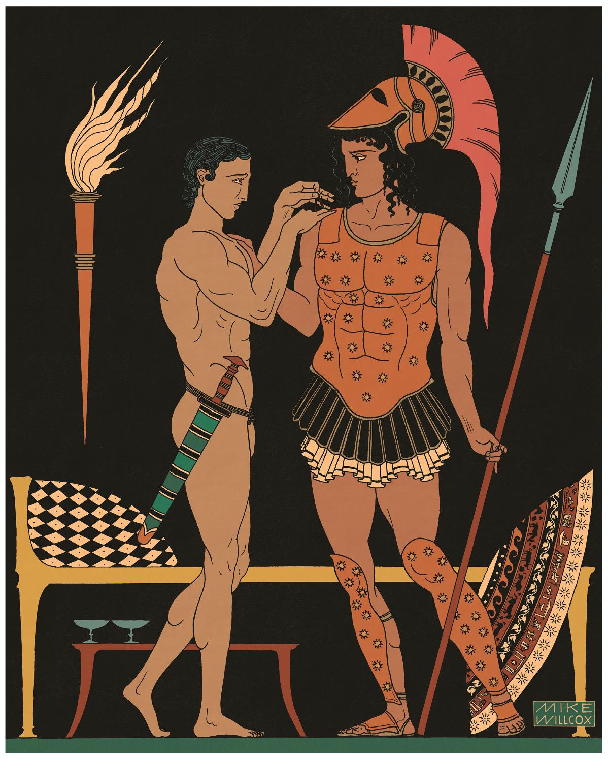 Image of Achilles & Patroclus
