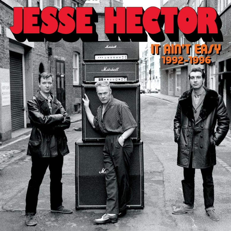 Image of JESSE HECTOR - It Ain't Easy 1992-1996 LP JAW048