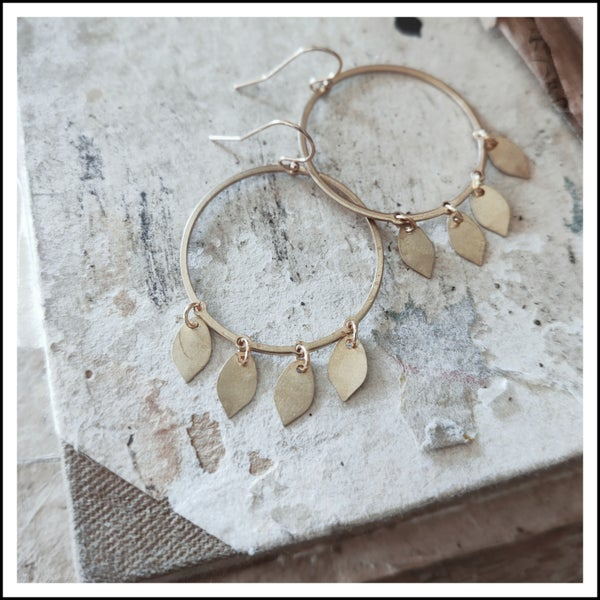 Image of Fallen Leaf Hoops