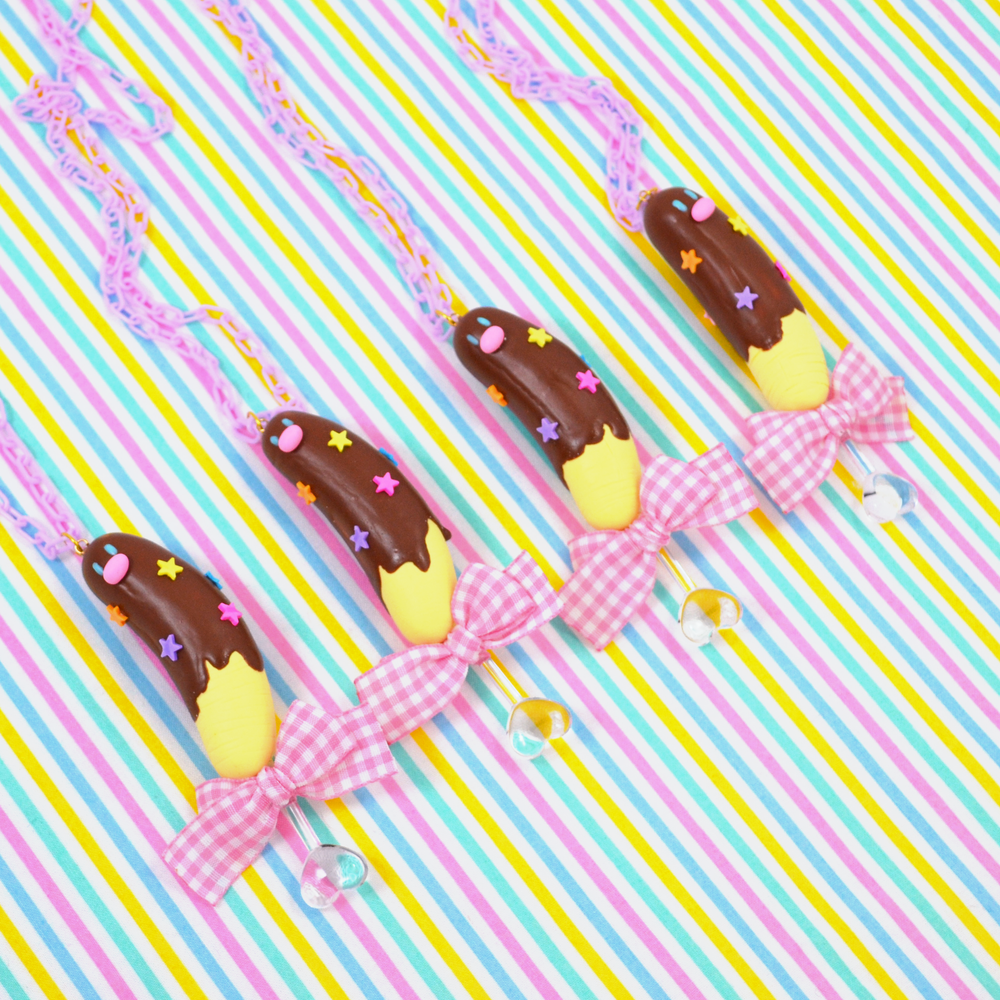 Chocolate Dipped Diglett Necklace