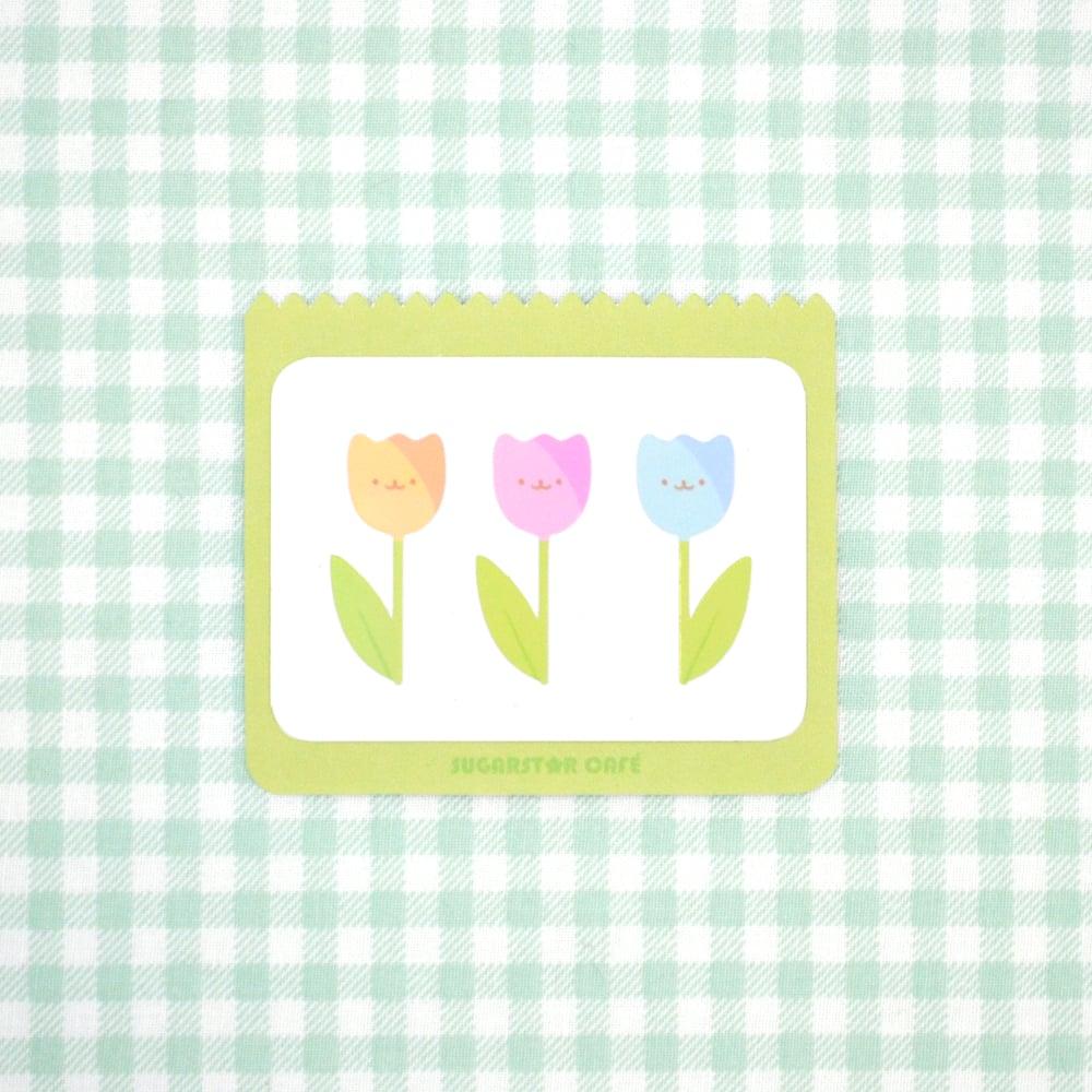 Happy Tulip Stickers