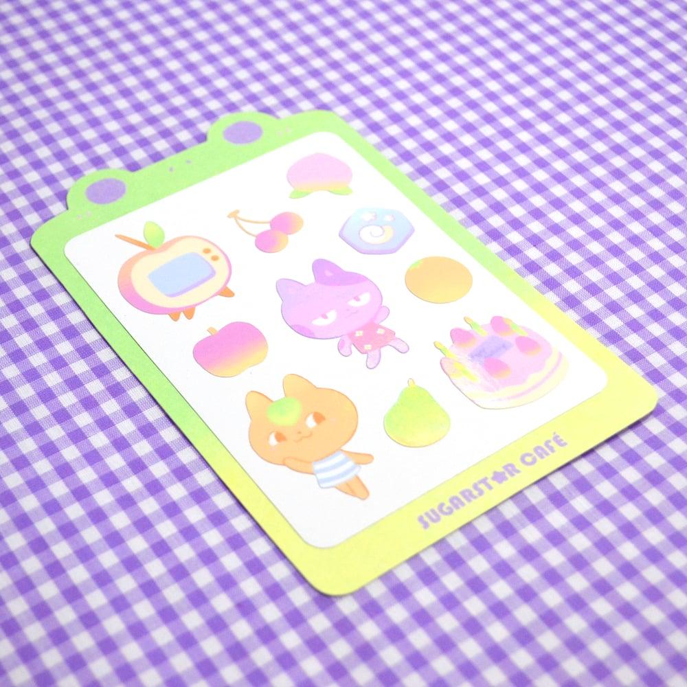 Animal Crossing Stuff Stickers