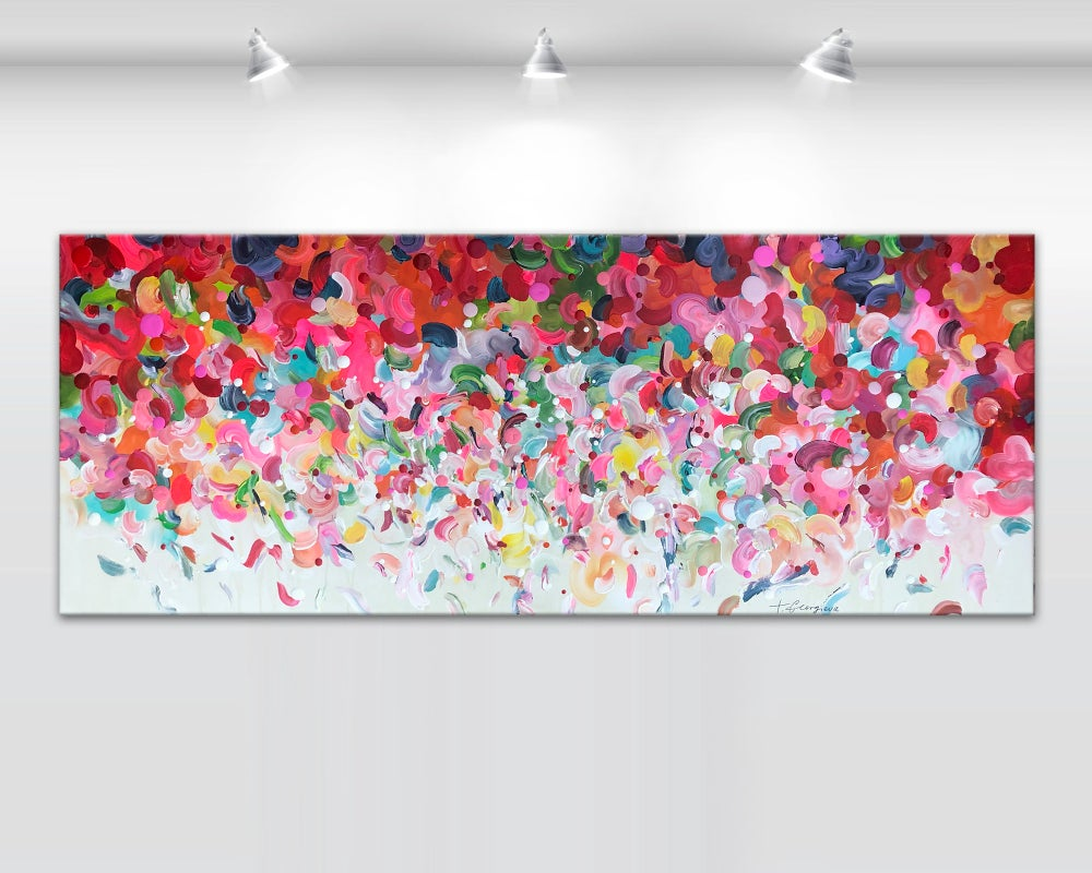 Image of 'Dance of the Angels' - 152x60cm