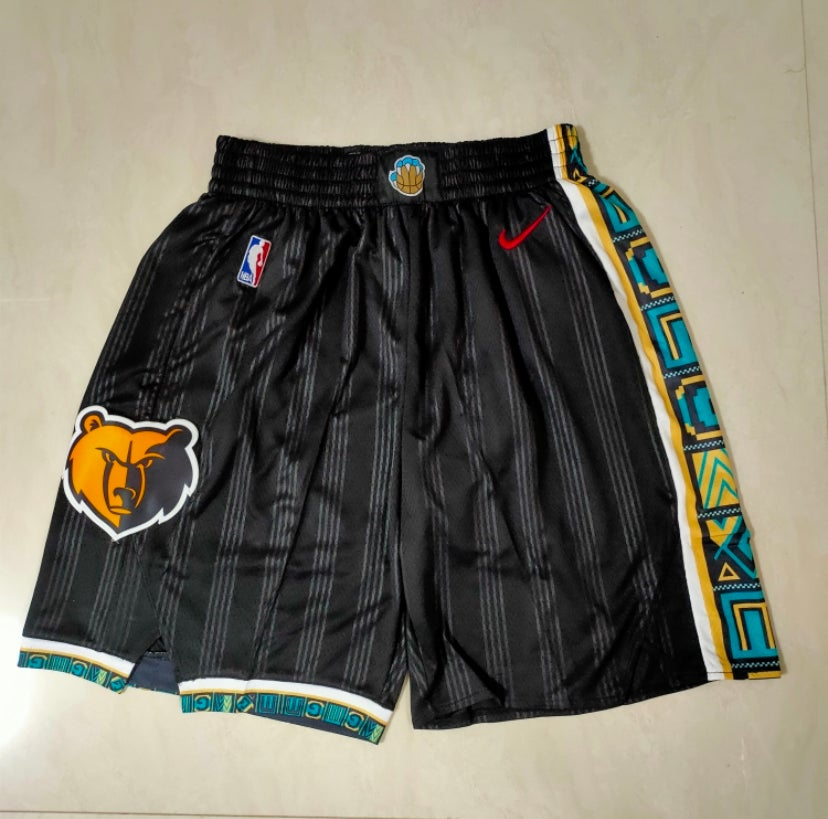 Image of Memphis grizzlies style shorts 2
