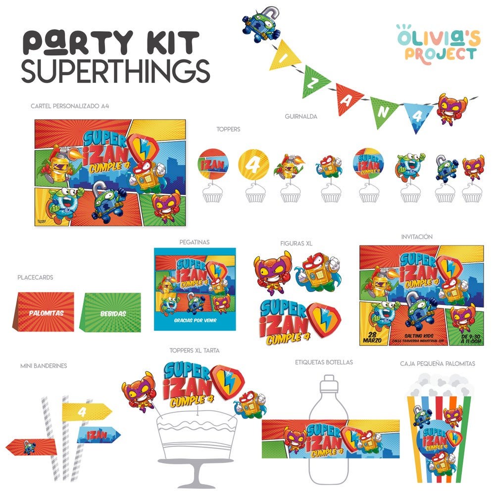 Image of Party Kit Supethings