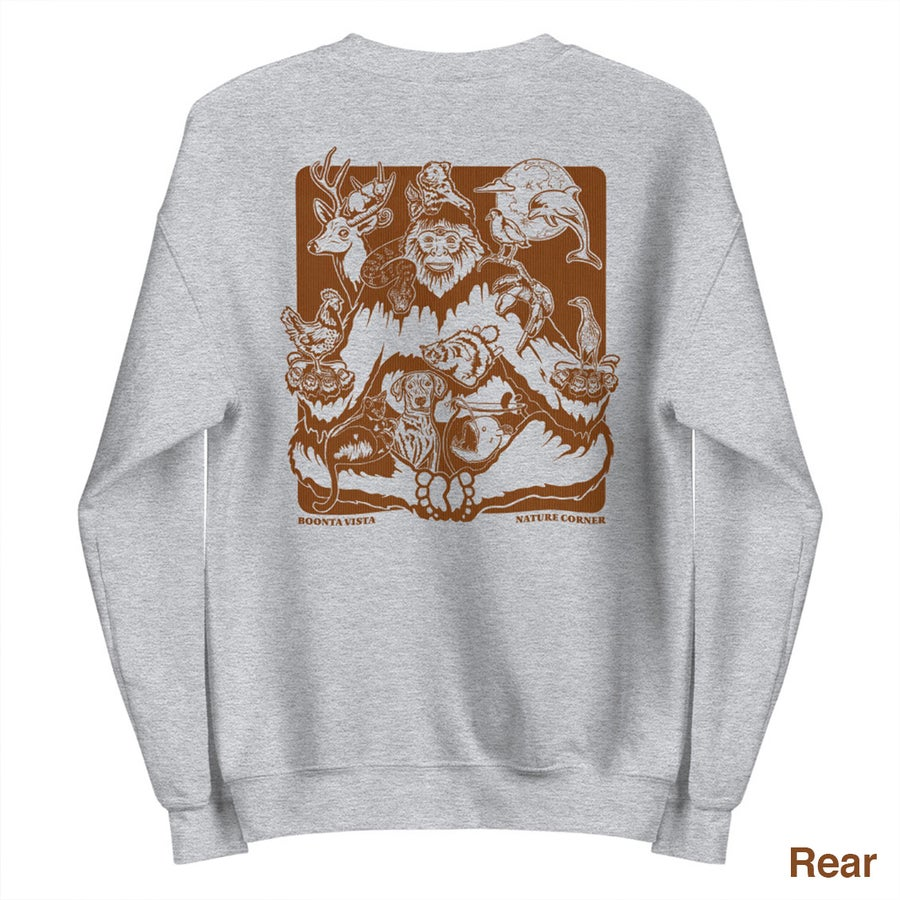 Image of Nature Corner Unisex Sweatshirt