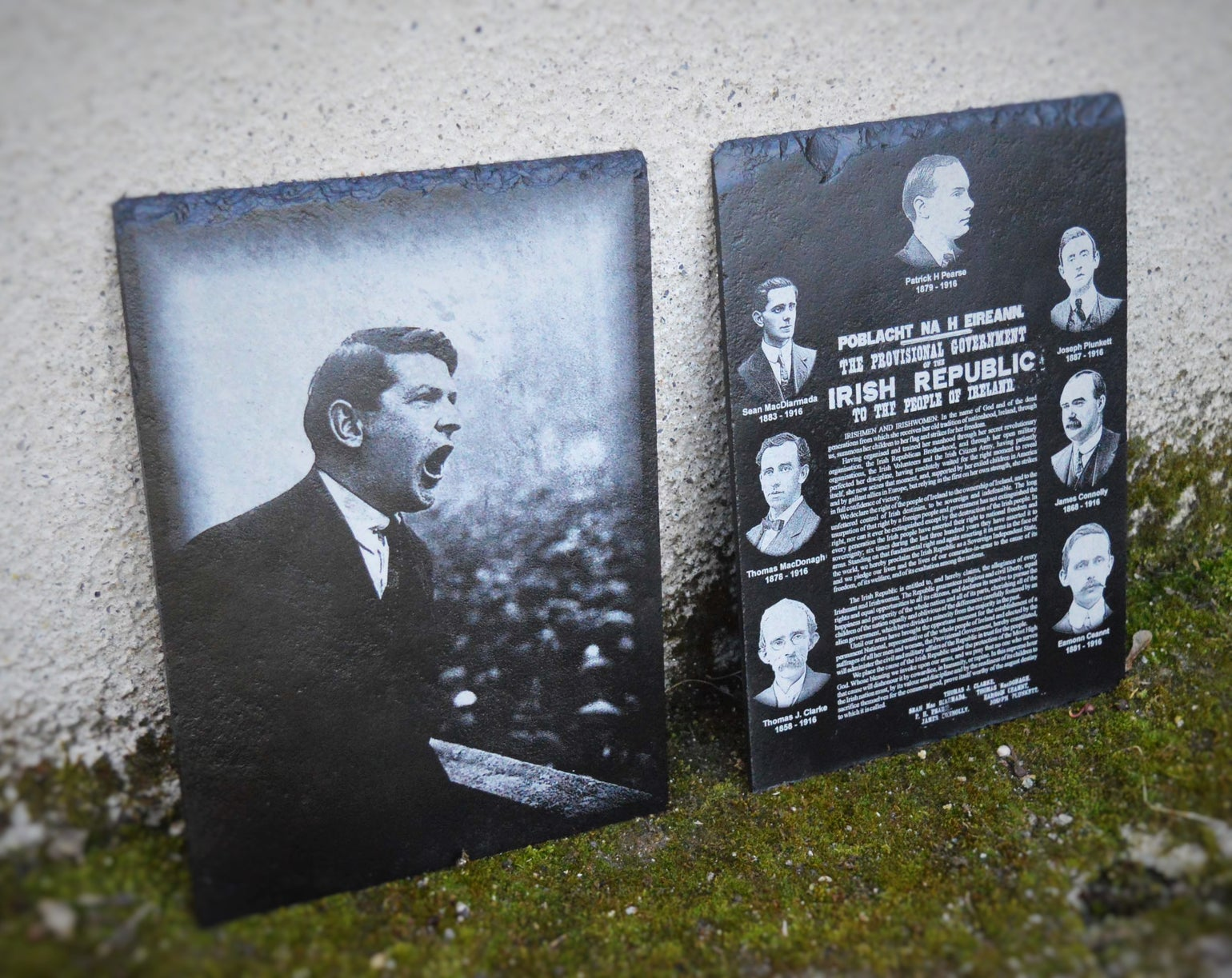 Image of Michael Collins Speech and 1916 Collage - Deal!!