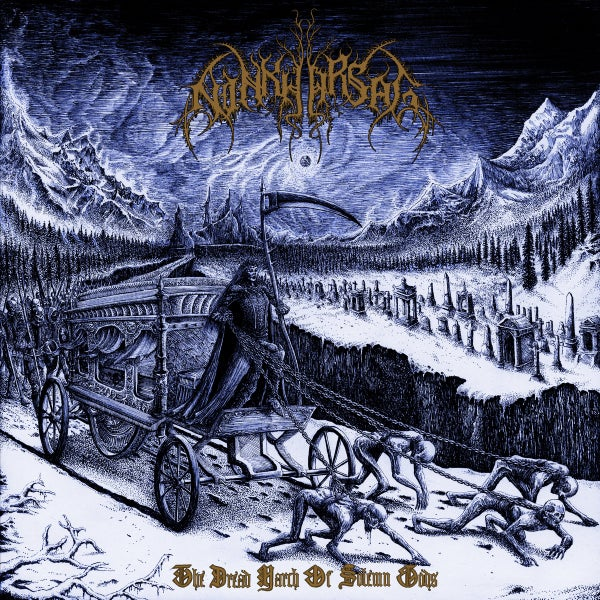"Image of NINKHARSAG ""The Dread March of Solemn Gods"" CD preorder"
