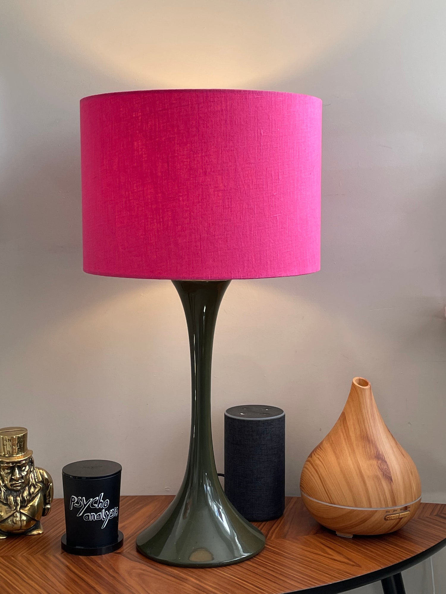 Image of European 100% Washed Linen Rosewater Shade
