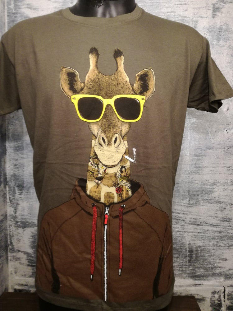 Image of Gangster Giraffe t shirt