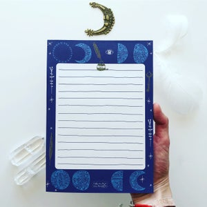 Image of Notes *Moon*