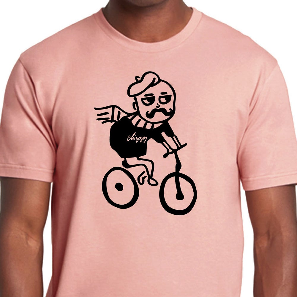 Image of SAW YOU ON CENTRAL - Men's Crew (Desert Pink)