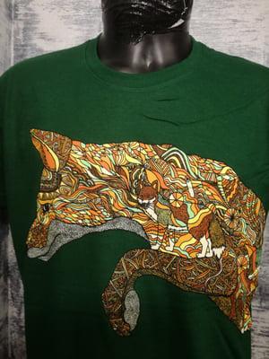 Image of Pattern fox t shirt