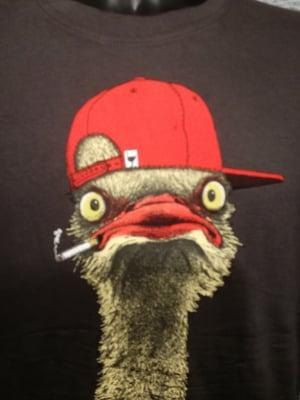 Image of Gangster ostrich t shirt