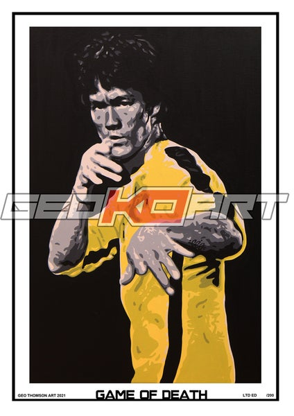 Image of BRUCE LEE GAME OF DEATH