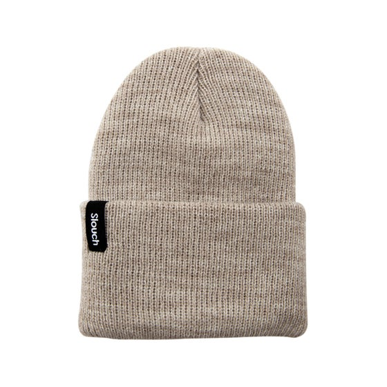 Image of Oat Knit Cuff Beanie