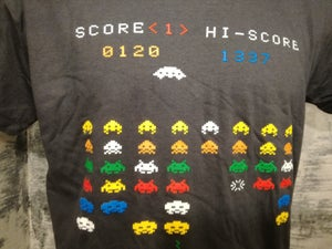 Image of Invaders super cool retro video games t shirt