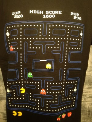 Image of Man its a pac the most iconic retro video games t shirt