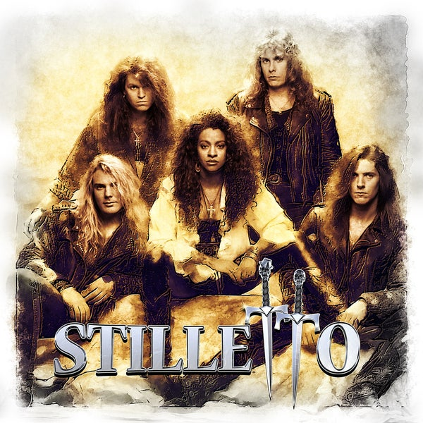 Image of STILLETTO - Stilletto (CD / DVD - PRE-ORDERS)