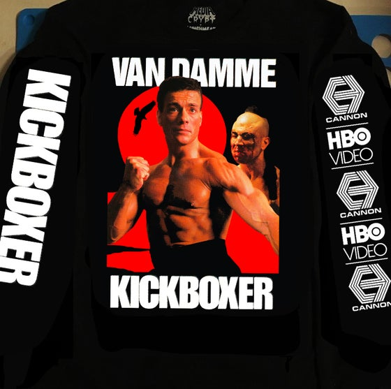 Image of KICKBOXER Long Sleeve Pre-Order