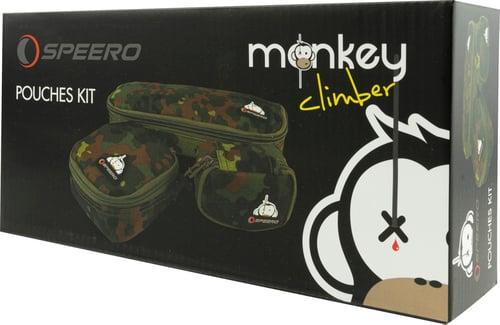 Image of Monkey Climber x Speero Collab I Ltd. Ed. Flecktarn Pouches Kit
