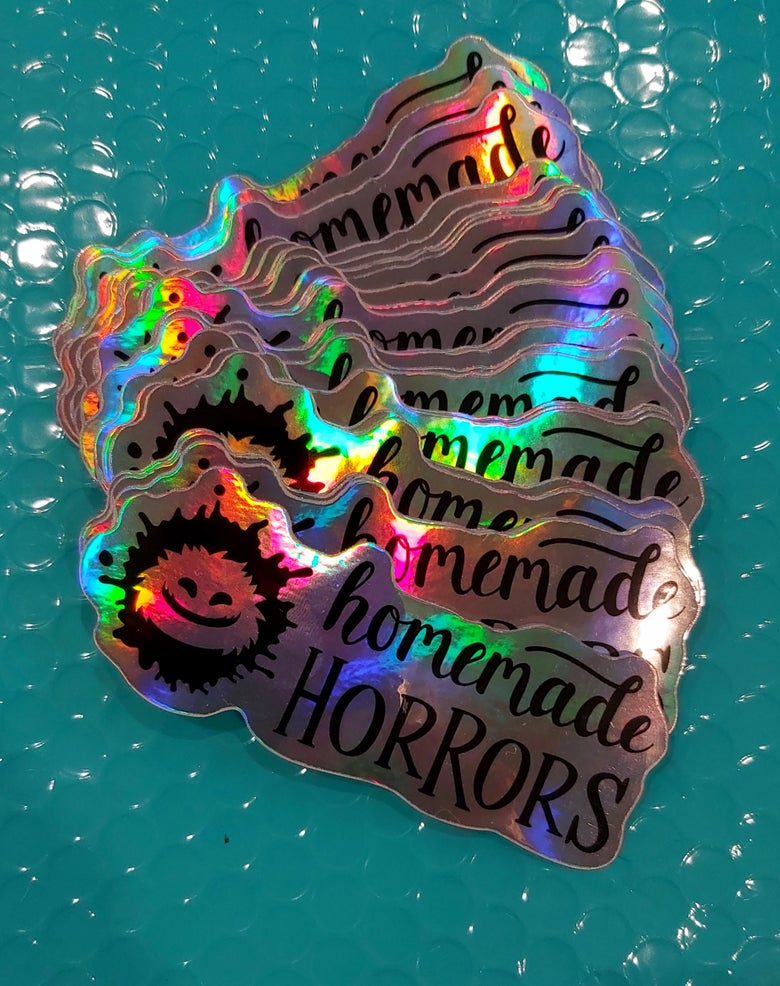 Image of Homemade Horrors Holographic Stickers