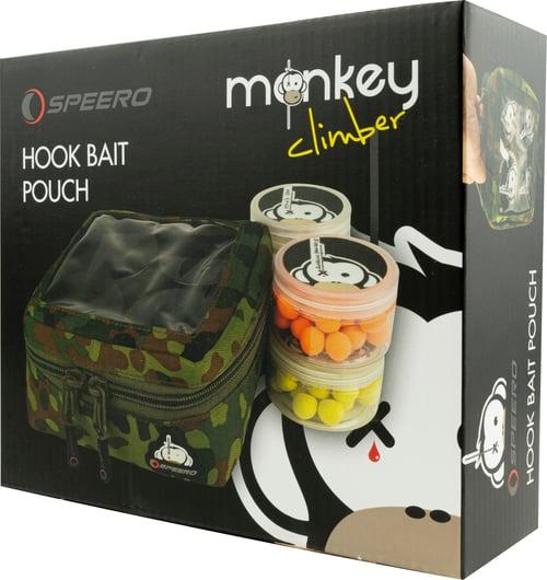 Image of Monkey Climber x Speero Collab I Ltd. Ed. Flecktarn Hook Bait Pouch