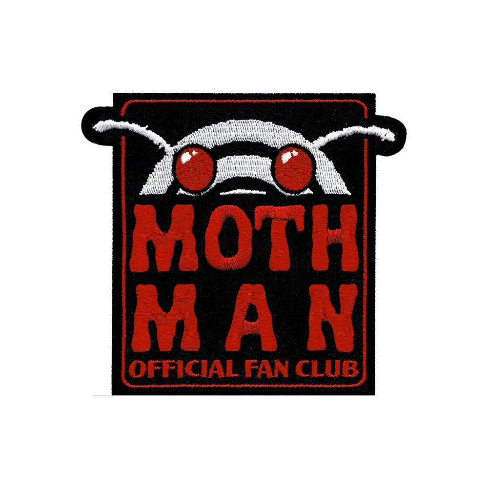 Image of Mothman Official Fan Club patch