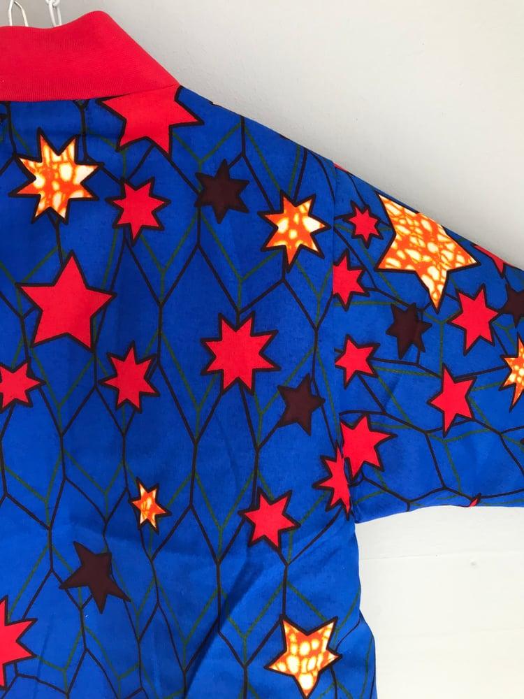 Image of ASFALT kids termojakke med stjerneprint (4-5,5-6 år)
