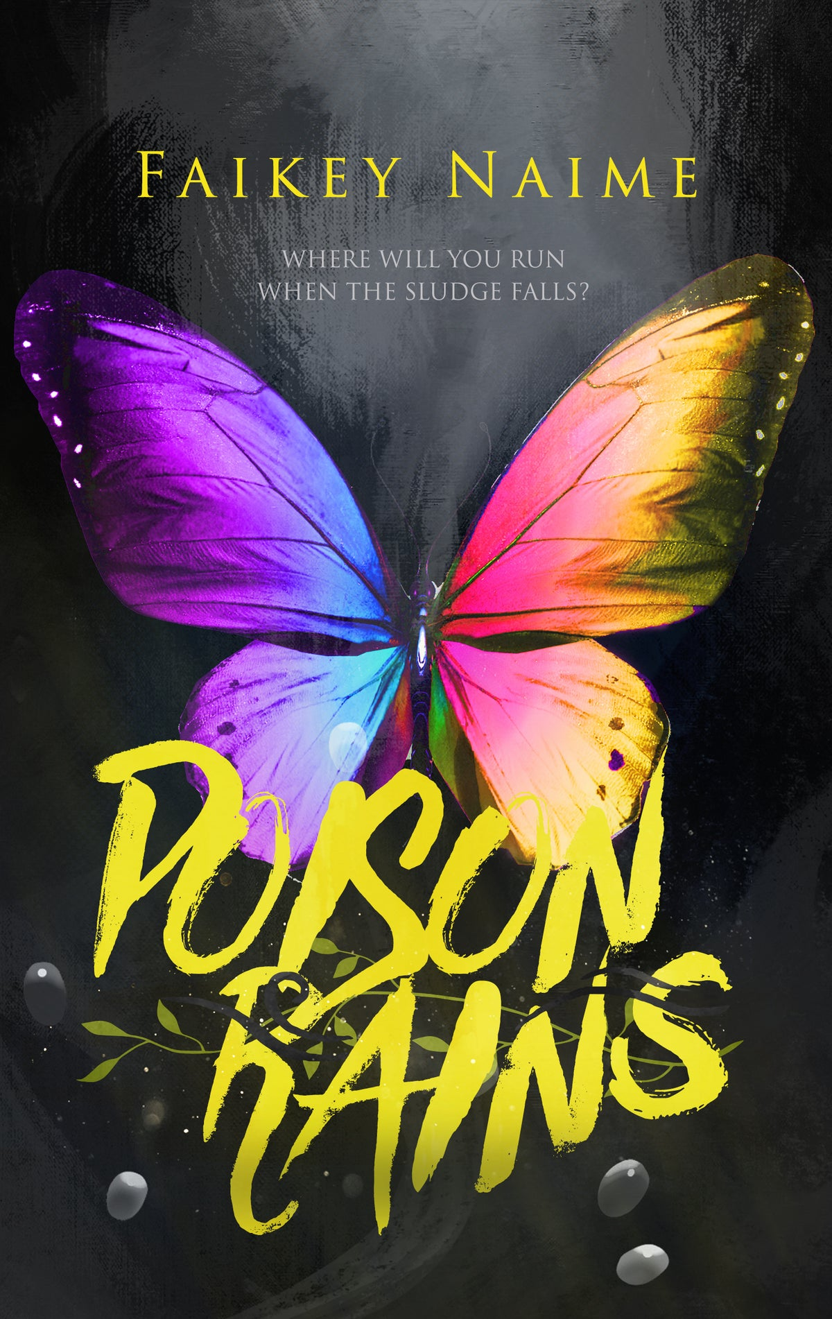 "Image of ""Poison Rains"" Pre-Made eBook Cover Design"