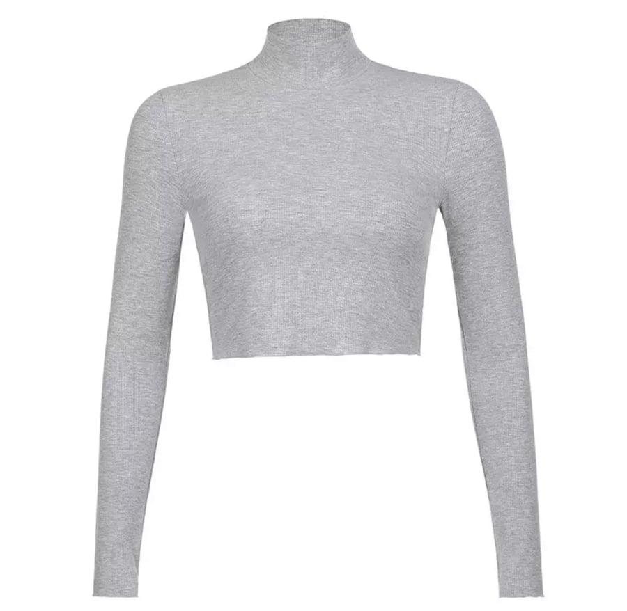 Image of Grey | Crop Top
