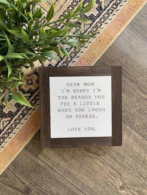 Image of Dear Mom