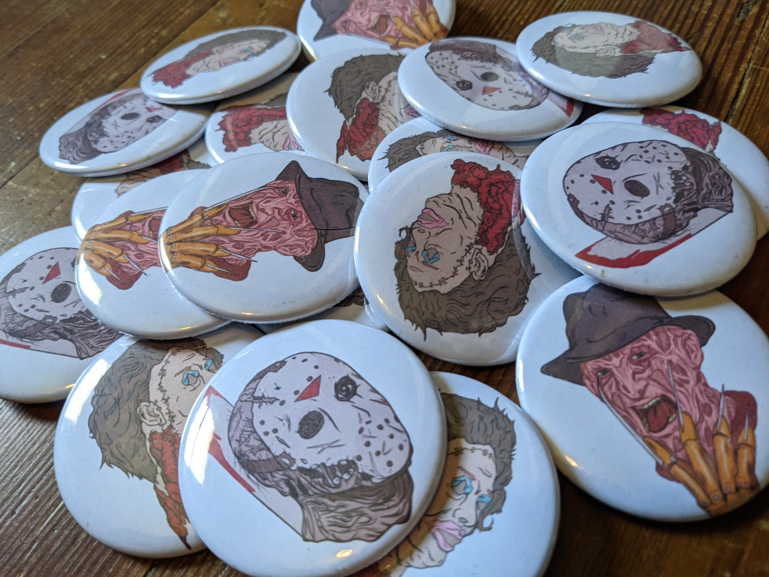 Image of Scary Boiz Buttons