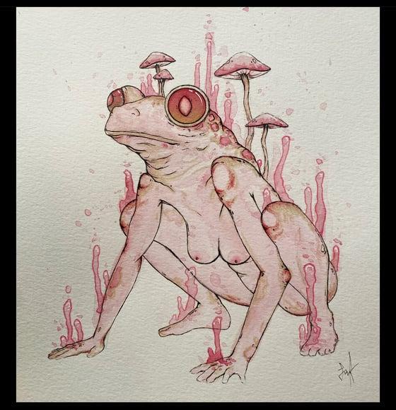 Image of Prints- Lady amphibian