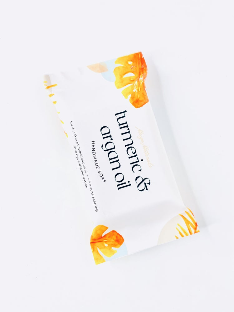 Image of Turmeric and Argan Oil Soap