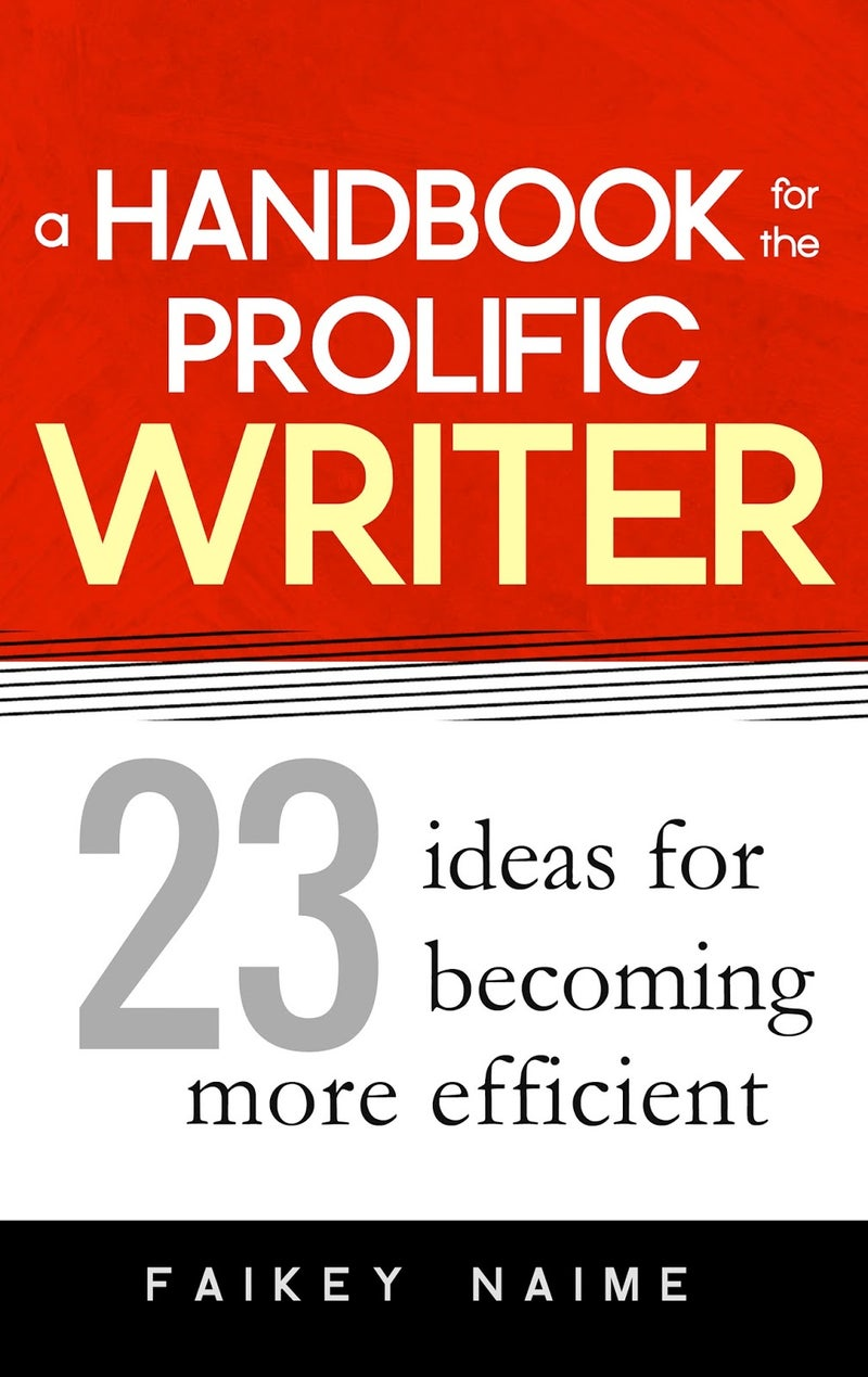 """Image of """"A Handbook for the Prolific Writer"""""""